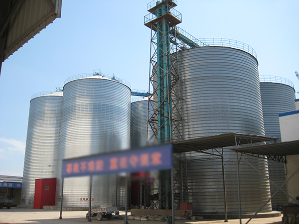 粮食钢板仓厂家